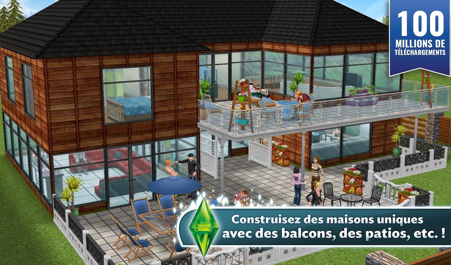 Sims Freeplay Gratuit Fraizes Aux Sims
